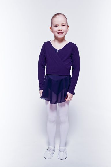 "Ballett Wickeljacke ""Mandy"", lila"