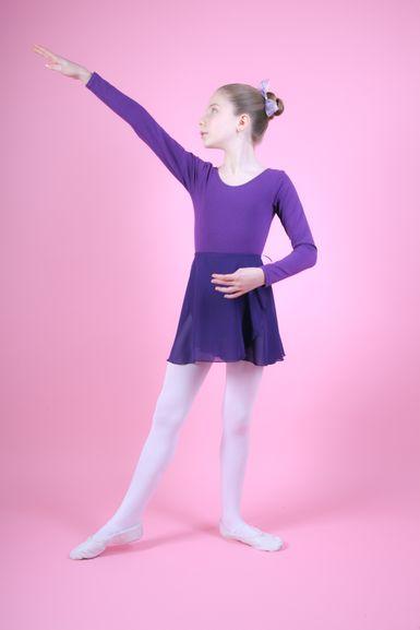 "Ballett Wickelrock ""Emma"", lila"