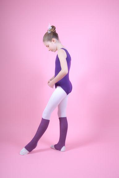 """Ballett Stulpen """"Leo"""" 40 cm, lila"""