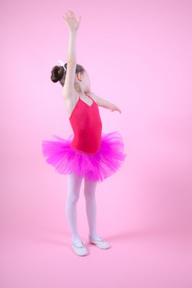 "Ballett Träger Tutu ""Kim"", pink"
