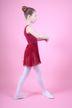 "Ballett Wickelrock ""Emma"", burgunder"