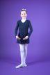 "Ballett Wickeljacke ""Mandy"", marineblau"