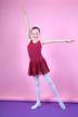 """Ballett Trikot """"Minnie"""" mit Chiffon Röckchen, burgunder"""
