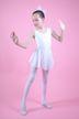 """Ballett Trikot """"Polly"""" mit Chiffon Röckchen, weiß"""