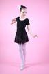 """Ballettanzug """"Lucy"""" mit Chiffonröckchen, schwarz"""