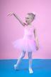 """Ballett Tutu """"Lottie"""", breite Träger mit Spitzeneinsatz, rosa"""