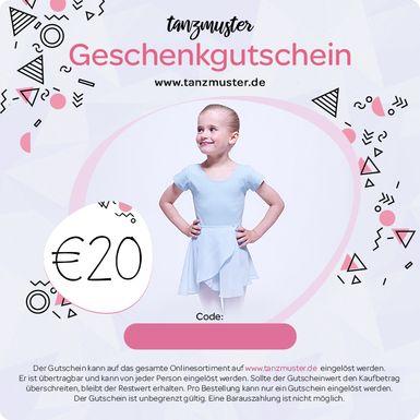 tanzmuster Gutschein 20,-