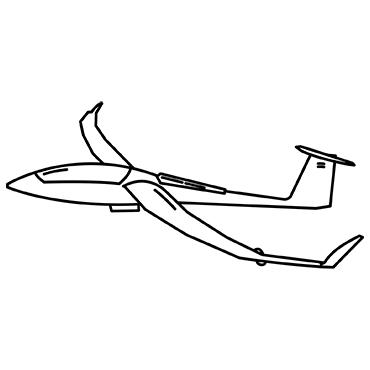 Akkus für Segelflugzeuge