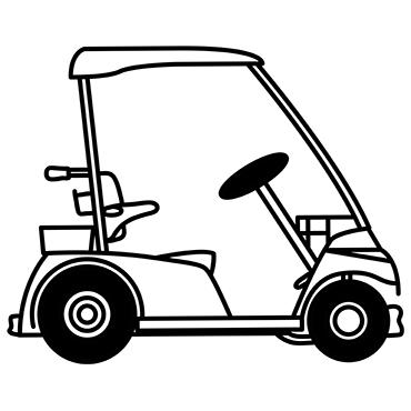 Akkus für Golfcarts
