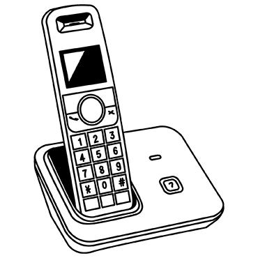 Akkus für Schnurlostelefon