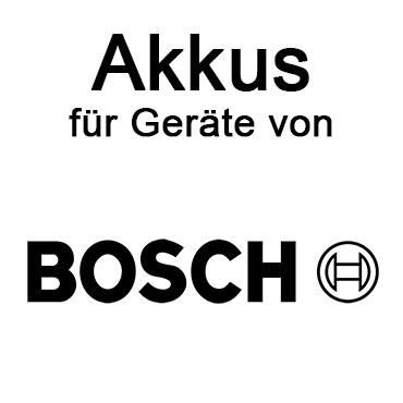 Akkus für Bosch