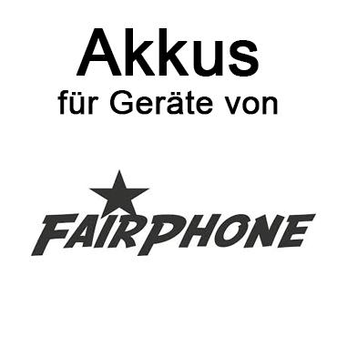 Akkus für Fairphone