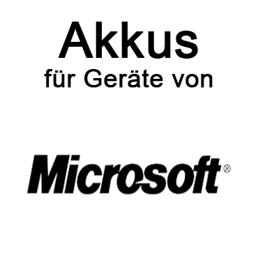 Akkus für Microsoft