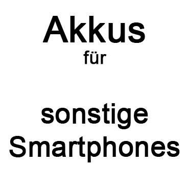 ...für sonstige Smartphones