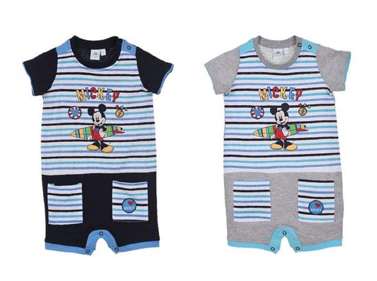 Bestbewertete Mode wie man wählt Offizielle Website Disney Mickey Mouse Baby Jungen Kurzarm Body Strampler Strampelanzug |  Yuhu.de