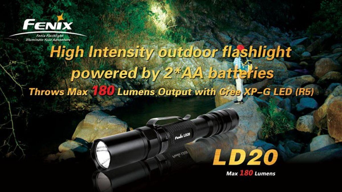 Fenix Taschenlampe LD 20 R5