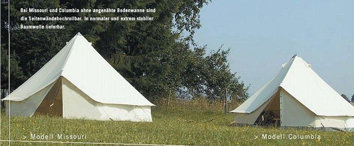 Rundzelt Missouri Schlingen-und Ösen Eingang von Tortuga – Bild 1