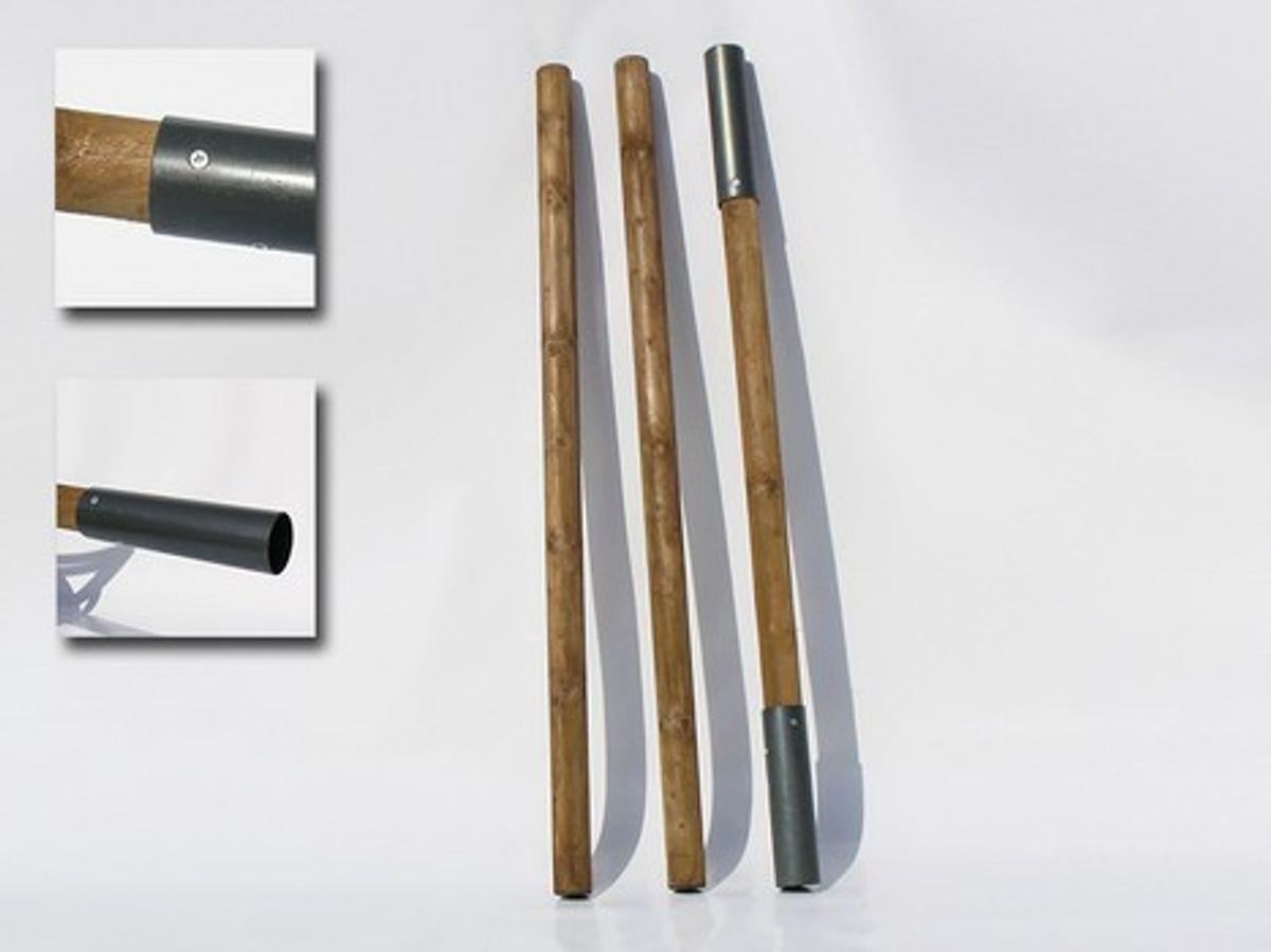 Jurtenzeltstange, 3tlg, 420 cm, 65 mm ø
