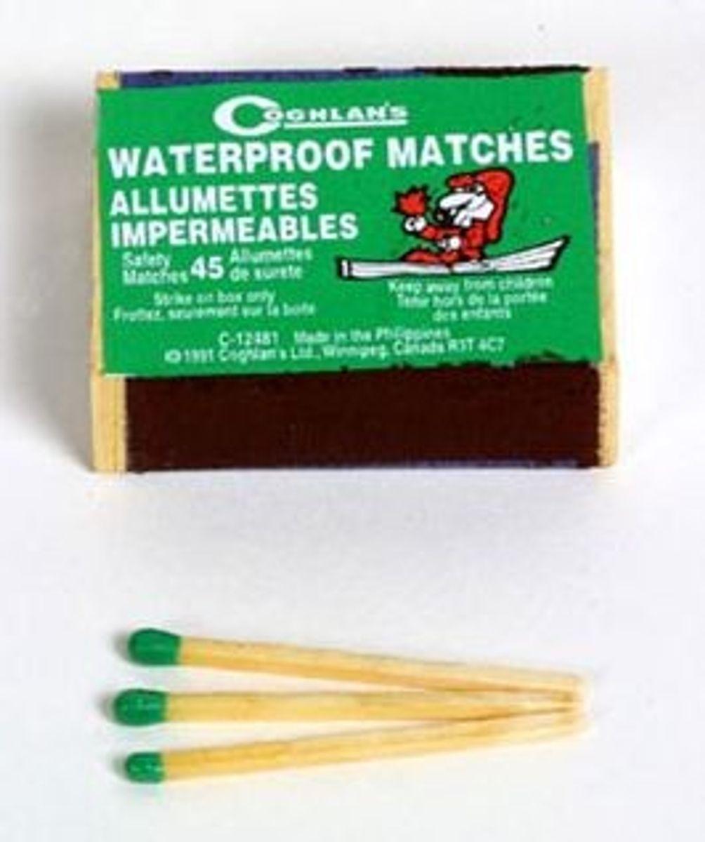 Wasserfeste Streichhölzer 10er Pack