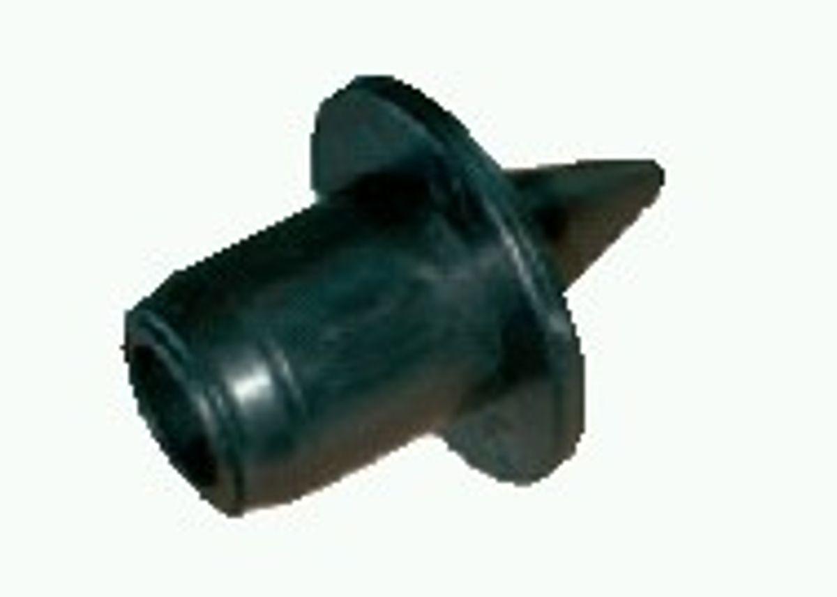 Kunststoff-Bodenspitze 25mm f. Aufstellstab