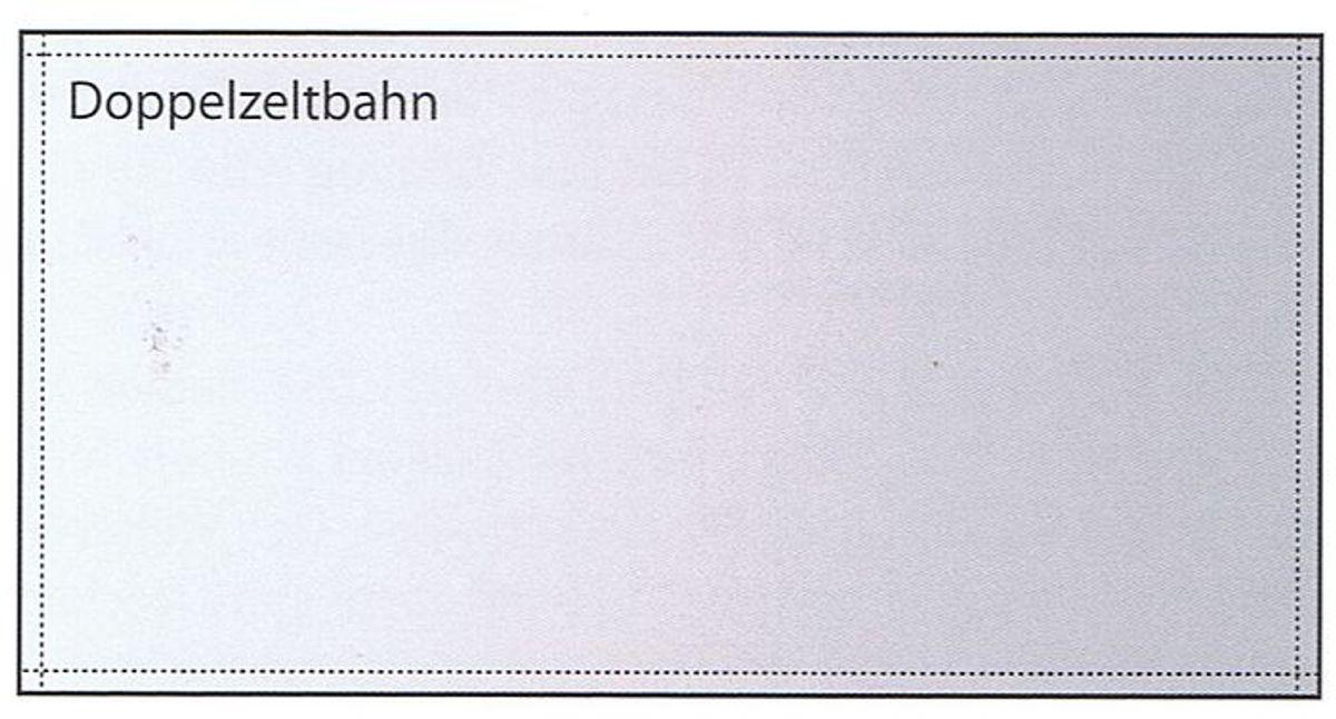 Doppelzeltbahn / Jurtenplane 285g/qm-Tortuga, 323x165cm