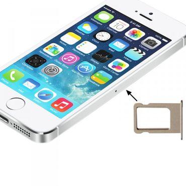 Apple iPhone 5 5S Sim Karten Halter Sim Tray Sim Schlitten Sim Holder Gold
