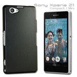 Hardcase Effekt für Sony Xperia Z1 Compact Hülle Case + Folie SET Bild 9