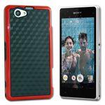 Hybrid Case für Sony Xperia Z1 Compact Hülle Case + Folie Bild 2