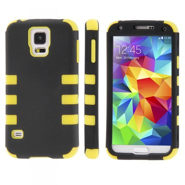 Hybrid Case 3teilig Gripp für Samsung Galaxy S5