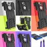 Hybrid Case 2teilig Robot für verschiedene Sony Xperia Modelle