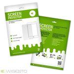 2x Displayschutzfolie für Samsung Galaxy Tab 4 7.0 SM-T230 + Poliertuch