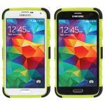 Hybrid Case 2teilig Robot Grün für Samsung Galaxy S5 Mini Bild 2