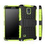 Hybrid Case 2teilig Robot Grün für Samsung Galaxy Note 4 SM-N910 SM-N910F