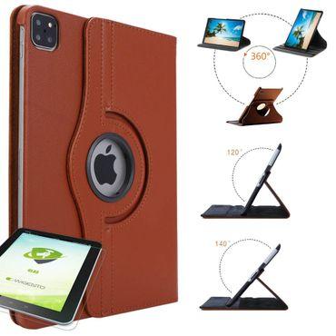[Paket] Schutzhülle Kunstleder 360 Grad Tasche für verschiedene Apple iPad