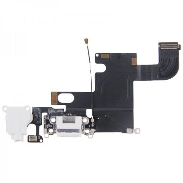 Apple iPhone 6 Dock Connector Antenne Audio Jack Flex Kabel Weis