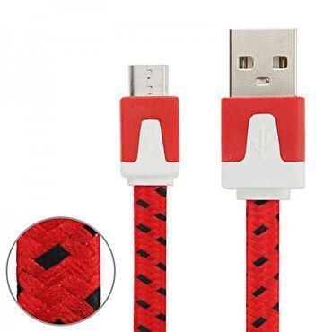 Micro USB Datenkabel Ladekabel Farben 2 m für Handys Tablet Kabel Laden Zubehör