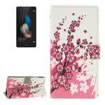 Tasche Wallet Premium Muster 6 für Huawei Ascend P8 Lite