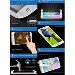 Premium 0,3 mm gebogene Panzerfolie Schwarz Folie für Samsung Galaxy S6 Edge G925 F Bild 4