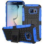 Hybrid Case 2teilig Robot Blau für Samsung Galaxy S6 Edge Plus SM-G928 F