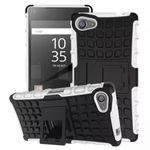 Hybrid Case 2teilig Weiß für Sony Xperia Z5 Compact Mini 4.6 Zoll + Panzerglas Bild 2