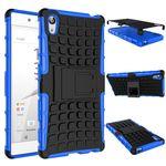 Hybrid Case 2teilig Blau für Sony Xperia Z5 Premium 5.5 Zoll + Hartglas Bild 2