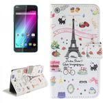 Tasche Wallet Premium Muster 31 für Wiko Lenny 2 (nicht Lenny 1)