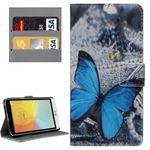 Tasche Wallet Premium Muster 31 für LG Bello 2 II