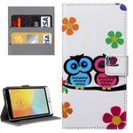 Tasche Wallet Premium Muster 33 für LG Bello 2 II
