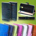 Tasche Wallet Premium Blau für Wiko Rainbow Jam Bild 2