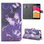 Tasche Wallet Muster 45 für Wiko Rainbow Jam