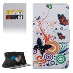 Tasche Wallet Premium Muster 2 für Huawei G8 5.5 Zoll