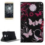 Tasche Wallet Premium Muster 4 für Huawei G8 5.5 Zoll