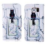 Schutzhülle Wallet Muster für Samsung Galaxy S6 G920 G920F