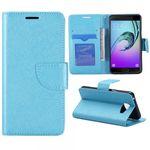 Tasche Wallet Premium Blau für Samsung Galaxy A5 2016 A510F